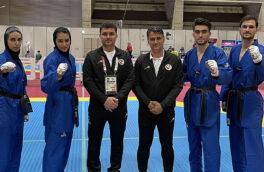 تیم تکواندوی ایران به مدال نقره مسابقات آزمایشی المپیک دست یافت