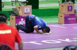ایران با کسب نخستین طلا در جایگاه هفتم المپیک ایستاد