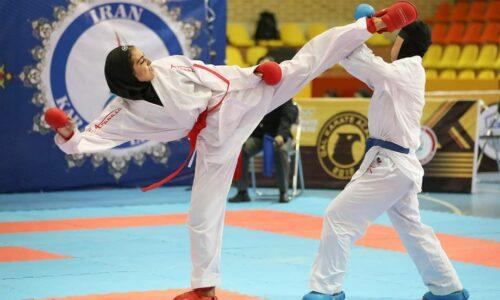 قهرمانی بانوان کاراتهکا پایتخت در مسابقات انتخابی تیم ملی