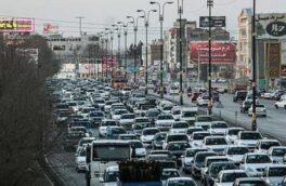 نقش موثر کاهش تردد خودروها بر آلودگی هوا