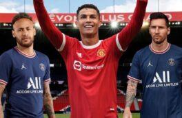رونالدو پردرآمدترین فوتبالیست جهان بالاتر از مسی و نیمار