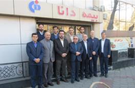 بازدید رئیس هیات مدیره و هیات همراه از شعبه مسجد کبود تبریز