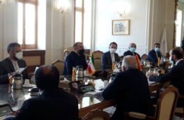دیدار وزیران خارجه ایران و ارمنستان در تهران
