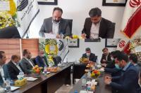 دیدار معاونت فناوری اطلاعات بانک ایران زمین با مسئولین سازمان حمل و نقل شهرداری رشت