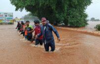 سیلاب در هند ۲۵ قربانی گرفت
