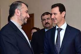 دیدار امیرعبداللهیان با بشار اسد
