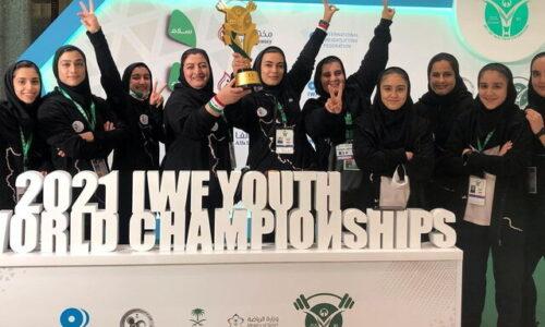 پرچم دختران وزنهبردار بالاتر از پسران در قهرمانی نوجوانان جهان